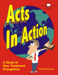 Acts In Action Workbook Cover