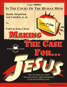 Case For Jesus Workbook Cover